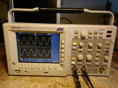 Tektronix Tds3052c 500 Mhz 5gss 2 Channel Oscilloscope Dso Fft Trg