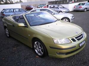 2004 Saab 9-3 Convertible Soldiers Hill Ballarat City Preview