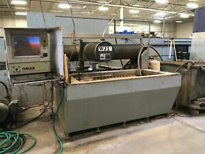 USED OMAX 2652 CNC WATERJET WATER JET CUTTING SYSTEM 26