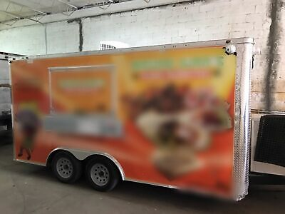 Used 2018 Freedom Trailers 8.5 X 16 Food Concession Trailer For Sale In Florid