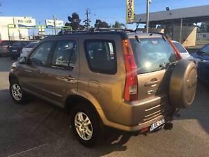 2004 Honda CR-V Wagon 4X4 Sport Auto Wagon $4499