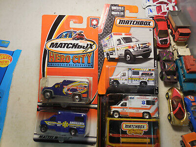 Matchbox AMBULANCE LOT Collectibles 1998 Premiere Las Vegas Fire Department E350