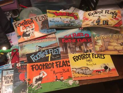 Collection of Footrot Flat Books