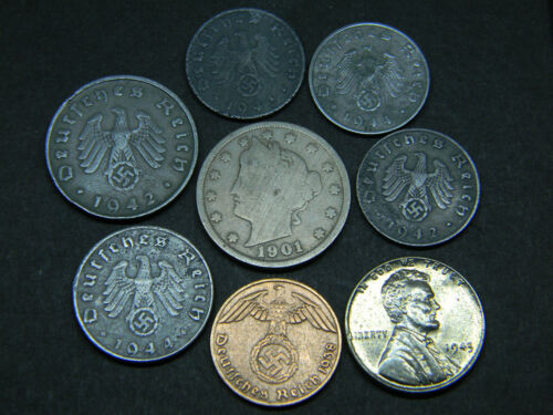 WW2 German and U.S. Coin Lot #10