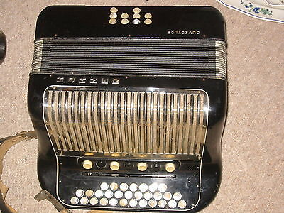 Hohner Ouverture  accordion accordeon fisarmonica,  needs service!