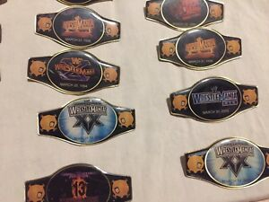 Wrestle Mania collector pins