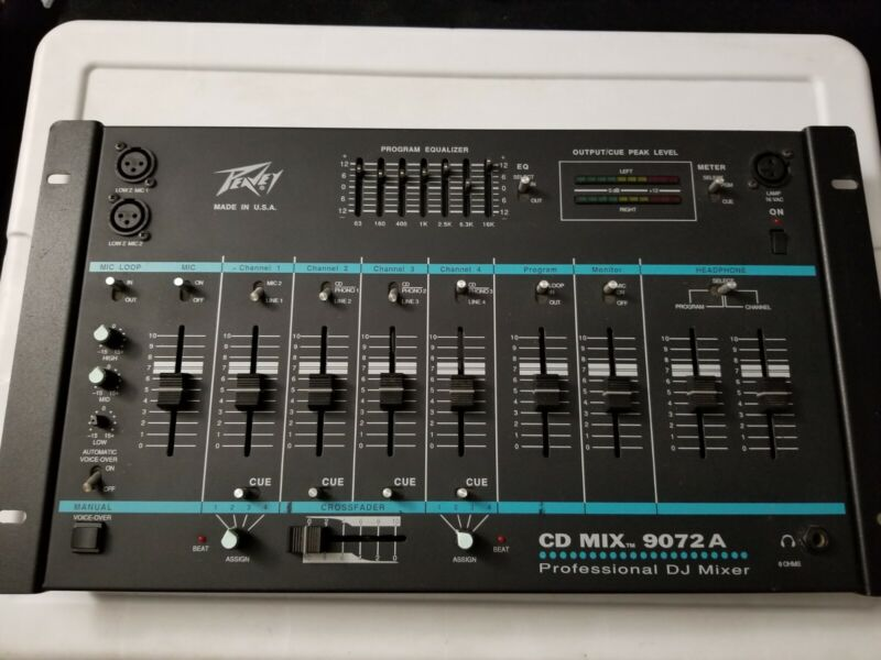Peavey Cd Mix 9072A (NO POWER ADAPTER CORD)