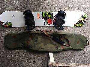 Snowboard set up for sale