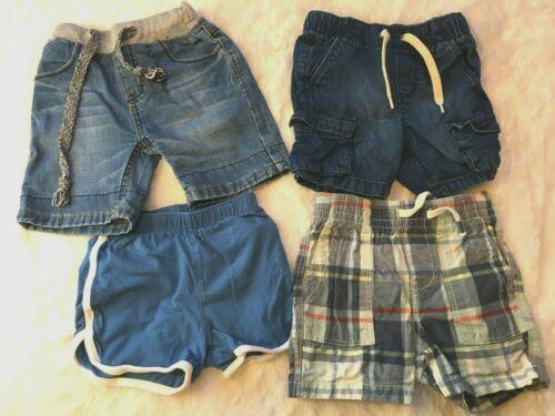 Lot of 4 Boy Shorts, Gap, Old Navy - 18-24M