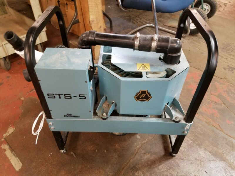 Air Techniques 54100 STS-5 Dental Dry Suction Vacuum Pump from Dentist Office