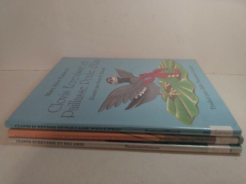 Clovis Book Lot Mary Alice Fontenot French Cajun Children