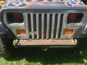 Jeep yj chrome grill