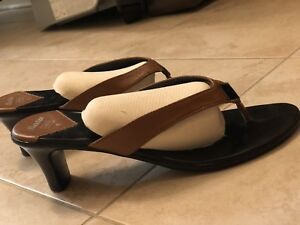 3 pairs of summer sandles, tie up statement looks. Size 7.5-8