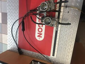 Complete Set Indy 500 Fuji Carbs With Cables