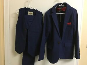 Brand new labelled, 5 pieces Blue Tuxedo for boys 7-8 years