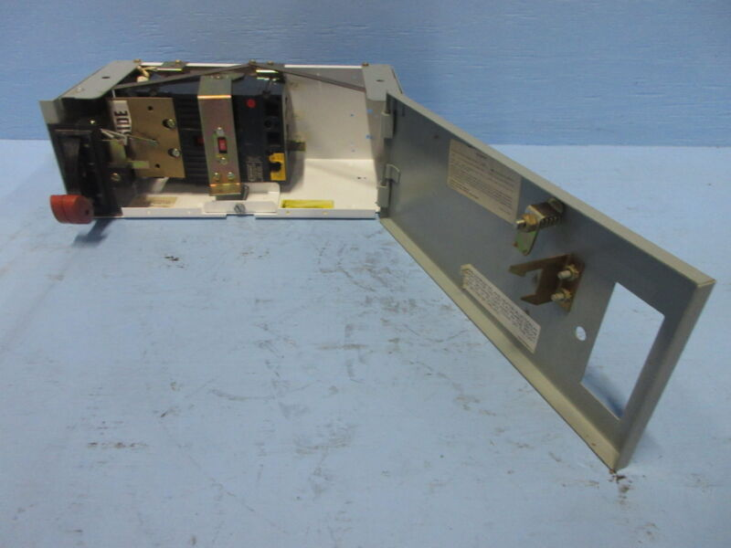 """General Electric GE 8000 70 Amp Breaker Type 6"""" MCC Feeder Bucket 70A THED136070"""