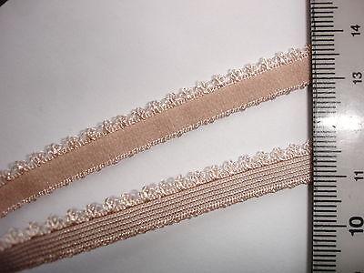 10m elastische Spitze 0,25€/m beige,  MN39