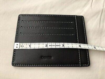 Leather Wallet Super Slim Card Holder - Super Slim Holder