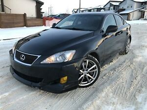 2007 Lexus IS 350 fully loaded with remote starter