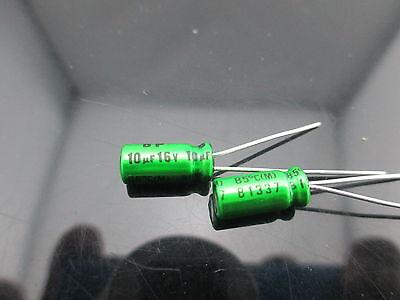 17pcs Japan Nichicon Muse Es Bp 10uf 16v 10mfd Audio Capacitor Caps