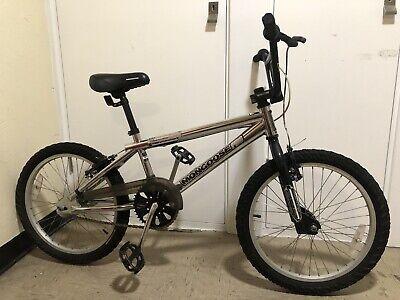Mongoose PRO BMX Bike Motivator Color Chrome