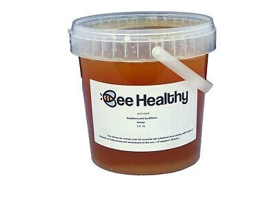 1.5kg Raspberry 100% PURE NATURAL HONEY Unheated, Unprocessed DELICIOUS RARE
