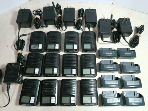 Lot of 12 Swissphone RE629 RE729 VHF Fire Pager 155.000 155.500