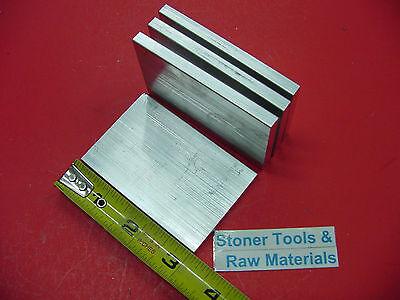 4 Pieces 14 X 2 Aluminum 6061 Flat Bar 3 Long T6 .25 Plate New Mill Stock