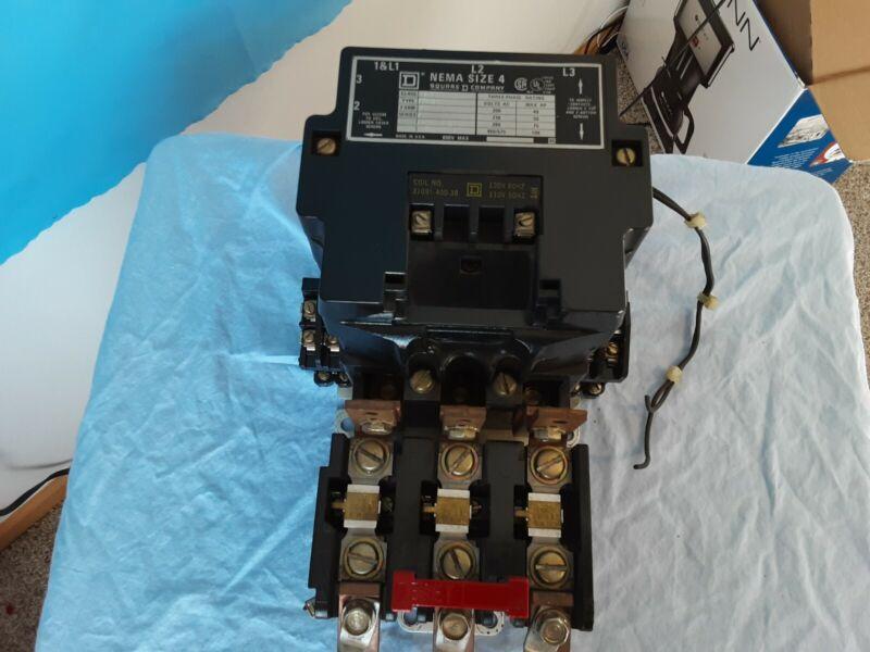 Square D 8536SF01S Nema Size 4 Series A Starter