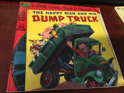 A Little Golden Book and Record, The happy Man and his Dump truck