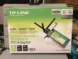 TP-LInk Wireless N PCI adapter