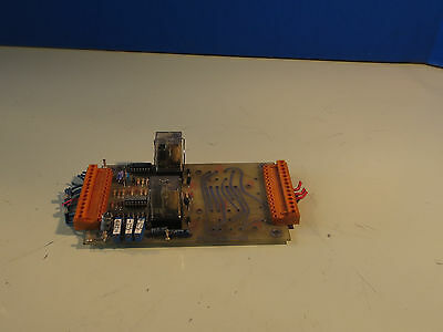 Milltronics Cnc Circuit Board Relay Connector Pc-as-01 Pdi I-o 49-86