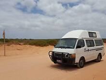 Toyota Hiace High-top Campervan Perth City Preview