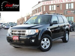 2009 Ford Escape XLT V6 Accident Free-Leather-Bluetooth