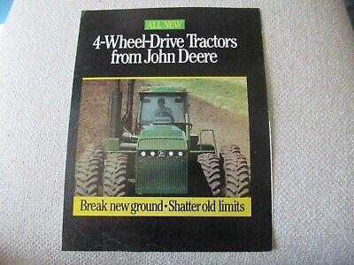 John Deere 8560 8760 8960 4wd Tractor Brochure