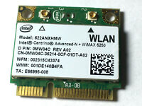 New OEM Dell MW04C Intel Centrino Advanced-N WiMAX 6250 622ANXHMW agn PCIe Half