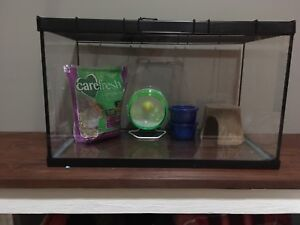 Small Animal Cage + Accessories
