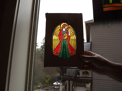 1979 Hallmark ACRYLIC CHRISTMAS ANGEL Tree Topper