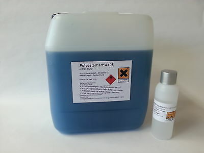 5 kg Polyesterharz A 105 Laminierharz + 100g Härter TOP-Angebot Polyester