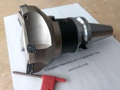 4 75 Degree Indexable Face Shell Mill Milling Cutter Bt40 Apkt 506-75ap-40