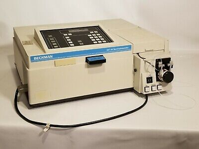 Beckman Du-64 Spectrophotometer With Protein Assay Soft-pac Module