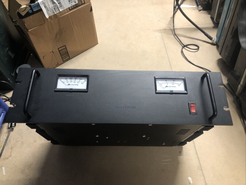 astron 50 amp power supply Battery Backup Connections.  Option