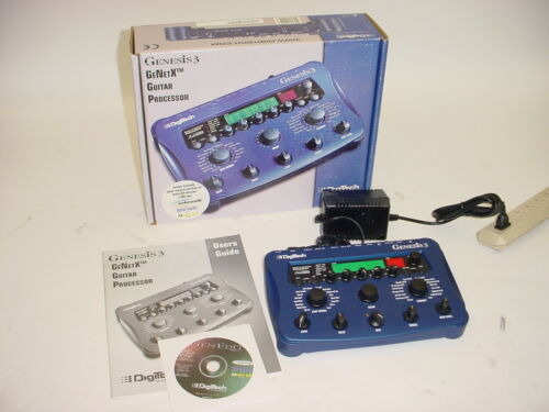 Digitech Genesis 3 GeNetX Guitar Processor w/ Power Supply