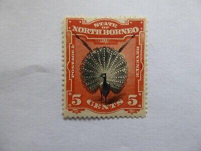 N Borneo 1894 5c m/mint