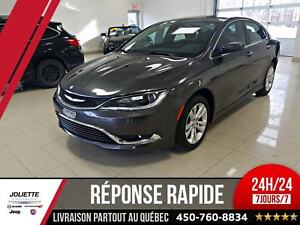2015 Chrysler 200 Limited, BLUETOOTH, DÉMARREUR, JAMAIS ACCIDENT