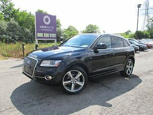 2013 Audi Q5 S-LINE PREMIUM PLUS LOADED NO ACCIDENTS LOW LOW MI