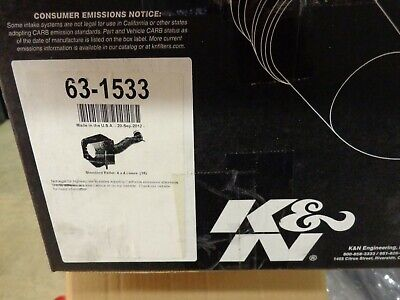 K&N 63-1533 Air Charger Performance Air Intake System Some Dodge Ram 5.7 Hemi 08