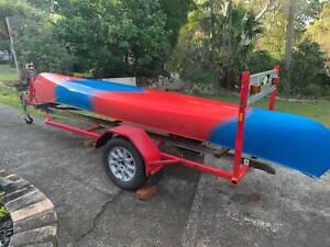 Canadian Canoe and Trailer