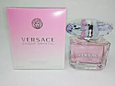 NEW Versace BRIGHT CRYSTAL 3 fl oz Women's Eau de Toilette Perfume EDT SEALED