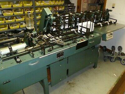 Mailcrafter Inserter 9800-6pm Used Six Station Inserter W Turnover Conveyor